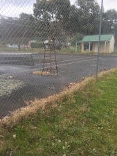 Abandoned Tennis Courts