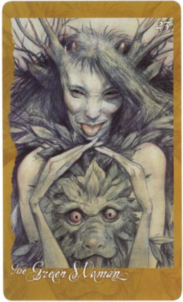 Green Woman Brian Froud