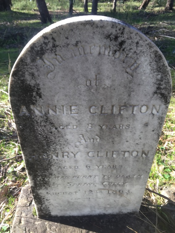 Annie and Henry Clifton