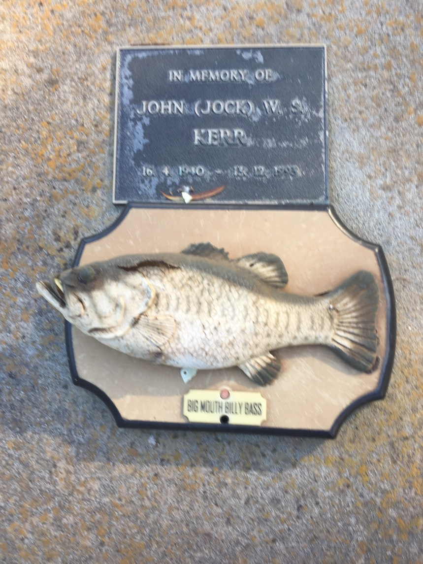 Jock loved fishing!