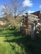 Abandoned Cattle Yard at the Monster Meeting Site Chewton