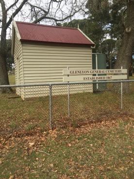 Glenlyon Cemetery Victoria