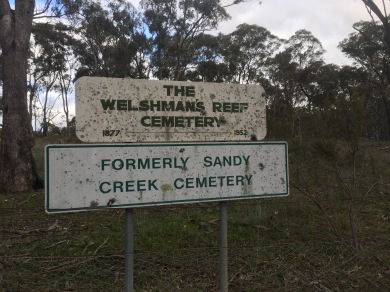 Formerly Sandy Creek Cemetery. No burials here since 1952
