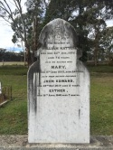 Note the death of Mary at 24 and her two children aged 2 and 7 months within a year of one another