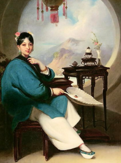 Portrait of Martina Rozells (date and artist unknown) Source: http://gardeninfrance.blogspot.com.au/2012/05/martina-rozells.html