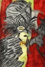 Self Portraiture - The Raven Queen