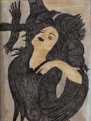 Self Portraiture - Queen of the Ravens