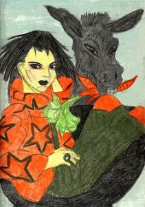 Self Portraiture - Mistress of Donkeys