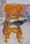 Golden Bone Chair