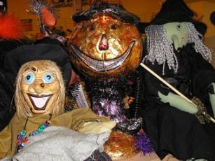 Priscilla enjoying Halloween