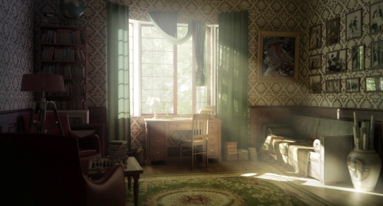 A room of my own at the virtual Bancroft Manor